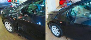 Фото до и после кузовного ремонта Chevrolet