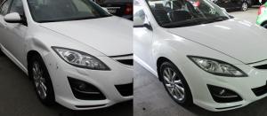Покраска автомобиля Mazda 6