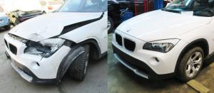 Восстановление автомобиля после ДТП BMW